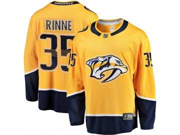 Dres Nashville Predators #35 Pekka Rinne Breakaway Alternate Jersey