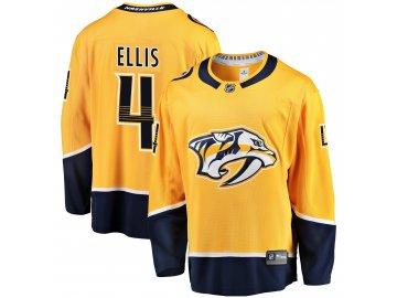 Dres Nashville Predators #4 Ryan Ellis Breakaway Alternate Jersey