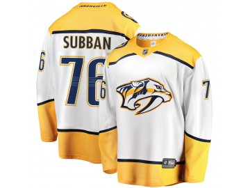 Dres Nashville Predators #76 PK Subban Breakaway Alternate Jersey