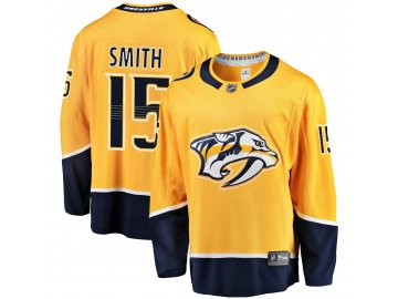 Dres Nashville Predators #15 Craig Smith Breakaway Alternate Jersey