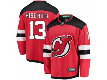 Dres New Jersey Devils #13 Nico Hischier Breakaway Alternate Jersey