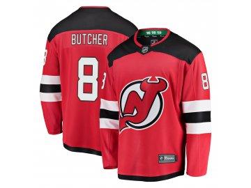 Dres New Jersey Devils #8 Will Butcher Breakaway Alternate Jersey
