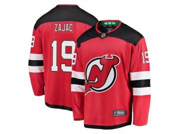 Dres New Jersey Devils #19 Travis Zajac Breakaway Alternate Jersey