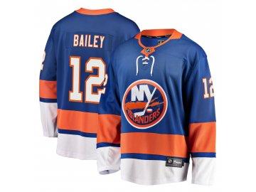 Dres New York Islanders #12 Josh Bailey Breakaway Alternate Jersey