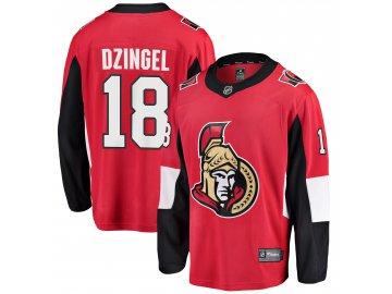 Dres Ottawa Senators #18 Ryan Dzingel Breakaway Alternate Jersey