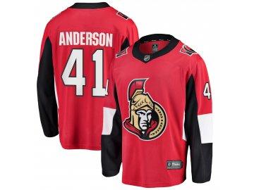 Dres Ottawa Senators #41 Craig Anderson Breakaway Alternate Jersey