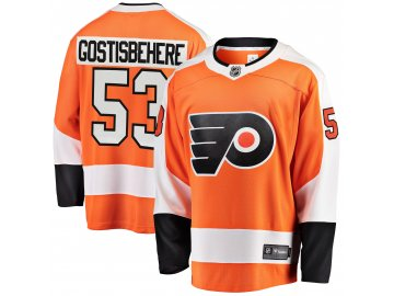 Dres Philadelphia Flyers #53 Shayne Gostisbehere Breakaway Alternate Jersey