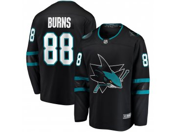Dres San Jose Sharks #88 Brent Burns Breakaway Alternate Jersey