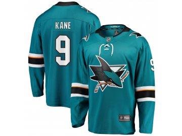 Dres San Jose Sharks #9 Evander Kane Breakaway Alternate Jersey