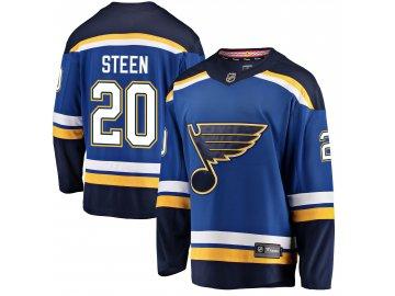 Dres St. Louis Blues #20 Alexander Steen Breakaway Alternate Jersey