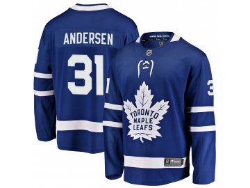 Dres Toronto Maple Leafs #31 Frederik Andersen Breakaway Alternate Jersey