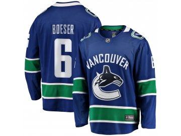 Dres Vancouver Canucks #6 Brock Boeser Breakaway Alternate Jersey