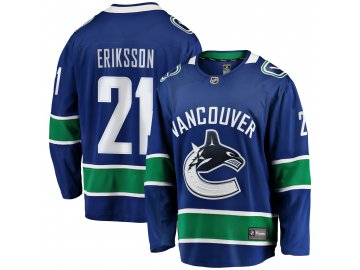 Dres Vancouver Canucks #21 Loui Eriksson Breakaway Alternate Jersey
