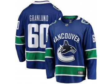 Dres Vancouver Canucks #60 Markus Granlund Breakaway Alternate Jersey