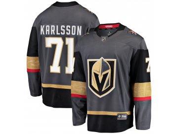 Dres Vegas Golden Knights #71 William Karlsson Breakaway Alternate Jersey