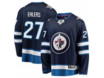 Dres Winnipeg Jets #27 Nikolaj Ehlers Breakaway Alternate Jersey