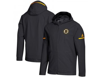 Mikina Boston Bruins Squad Woven Full-Zip Hoodie