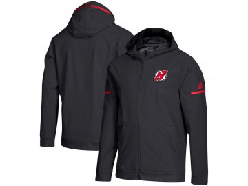 Mikina New Jersey Devils Squad Woven Full-Zip Hoodie