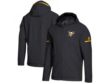 Mikina Pittsburgh Penguins Squad Woven Full-Zip Hoodie