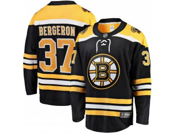 Dětský dres Boston Bruins # 37 Patrice Bergeron Breakaway Home Jersey