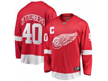 Dětský dres Detroit Red Wings # 40 Henrik Zetterberg Breakaway Home Jersey