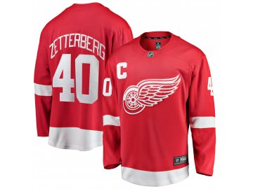 Dětský dres Detroit Red Wings # 40 Henrik Zetterberg Breakaway Home Jersey