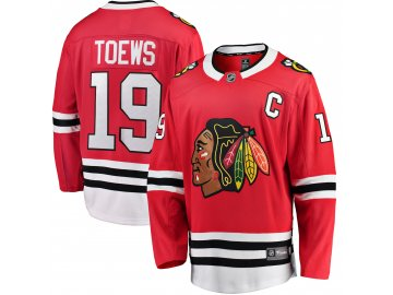 Dětský dres Chicago Blackhawks # 19 Jonathan Toews Breakaway Home Jersey