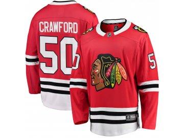 Dětský dres Chicago Blackhawks # 50 Corey Crawford Breakaway Home Jersey