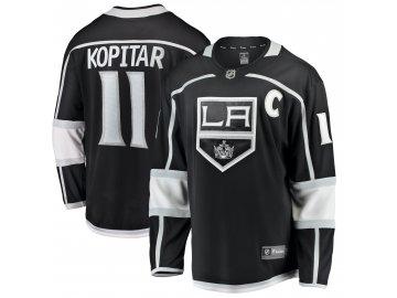 Dětský dres Los Angeles Kings # 11 Anze Kopitar Breakaway Home Jersey