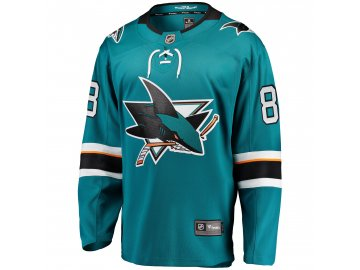 Dětský dres San Jose Sharks # 88 Brent Burns Breakaway Home Jersey