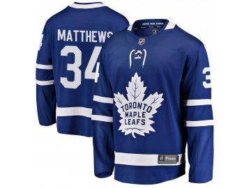 Dětský dres Toronto Maple Leafs # 34 Auston Matthews Breakaway Home Jersey