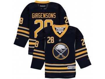 Dětský dres Buffalo Sabres #28 Zemgus Girgensons Reebok Replica Home