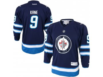 Dětský dres Winnipeg Jets #9 Evander Kane Reebok Replica Home