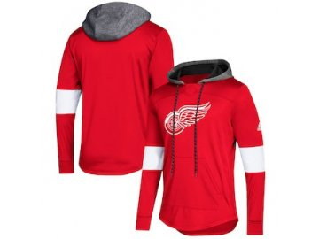 Mikina Detroit Red Wings Adidas Platinum Jersey Pullover Hoodie