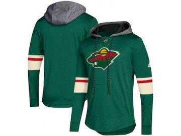 Mikina Minnesota Wild Adidas Platinum Jersey Pullover Hoodie