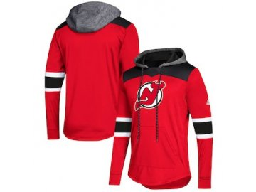 Mikina New Jersey Devils Adidas Platinum Jersey Pullover Hoodie
