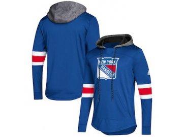 Mikina New York Rangers Adidas Platinum Jersey Pullover Hoodie