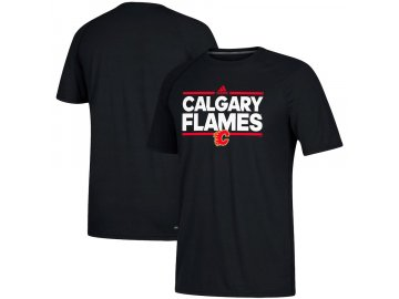 Tričko Calgary Flames Adidas Dassler Climalite