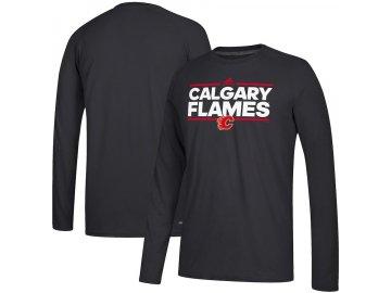 Tričko Calgary Flames Adidas Dassler Climalite Long Sleeve