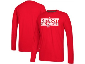 Tričko Detroit Red Wings Adidas Dassler Climalite Long Sleeve