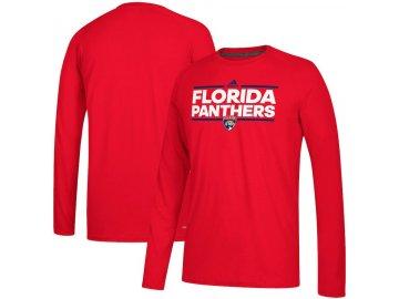 Tričko Florida Panthers Adidas Dassler Climalite Long Sleeve