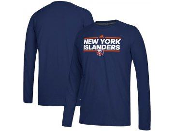 Tričko New York Islanders Adidas Dassler Climalite Long Sleeve