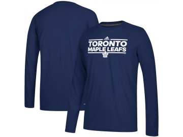 Tričko Toronto Maple Leafs Adidas Dassler Climalite Long Sleeve