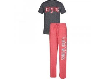 Pánské Pyžamo Detroit Red Wings Spar Top & Pants Sleep Set