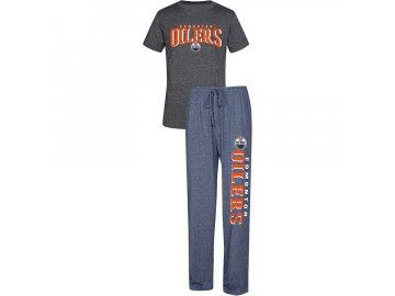 Pánské Pyžamo Edmonton Oilers Spar Top & Pants Sleep Set