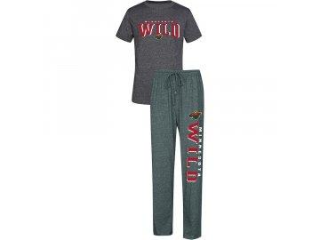 Pánské Pyžamo Minnesota Wild Spar Top & Pants Sleep Set