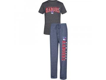 Pánské Pyžamo New York Rangers Spar Top & Pants Sleep Set