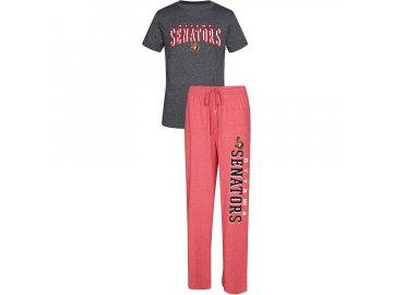 Pánské Pyžamo Ottawa Senators Spar Top & Pants Sleep Set