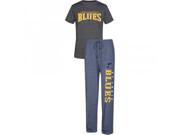 Pánské Pyžamo St. Louis Blues Spar Top & Pants Sleep Set
