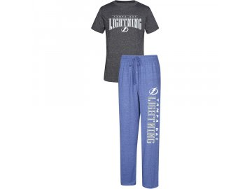 Pánské Pyžamo Tampa Bay Lightning Spar Top & Pants Sleep Set